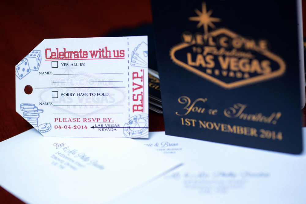 Wedding Invitation Las Vegas Beautiful Australian Passport Wedding Invitation to Las Vegas