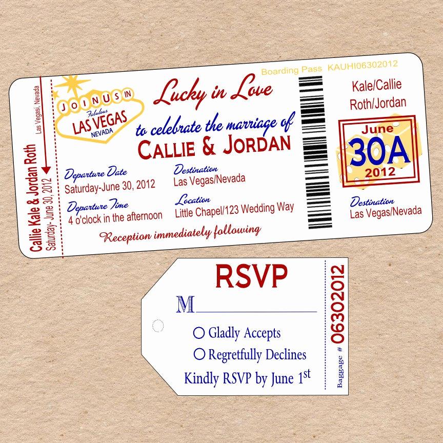 Wedding Invitation Las Vegas Best Of Unavailable Listing On Etsy