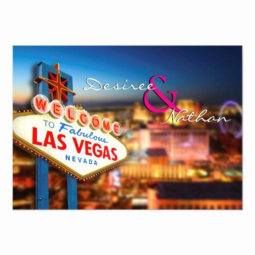 Wedding Invitation Las Vegas Lovely Las Vegas Wedding Invitation