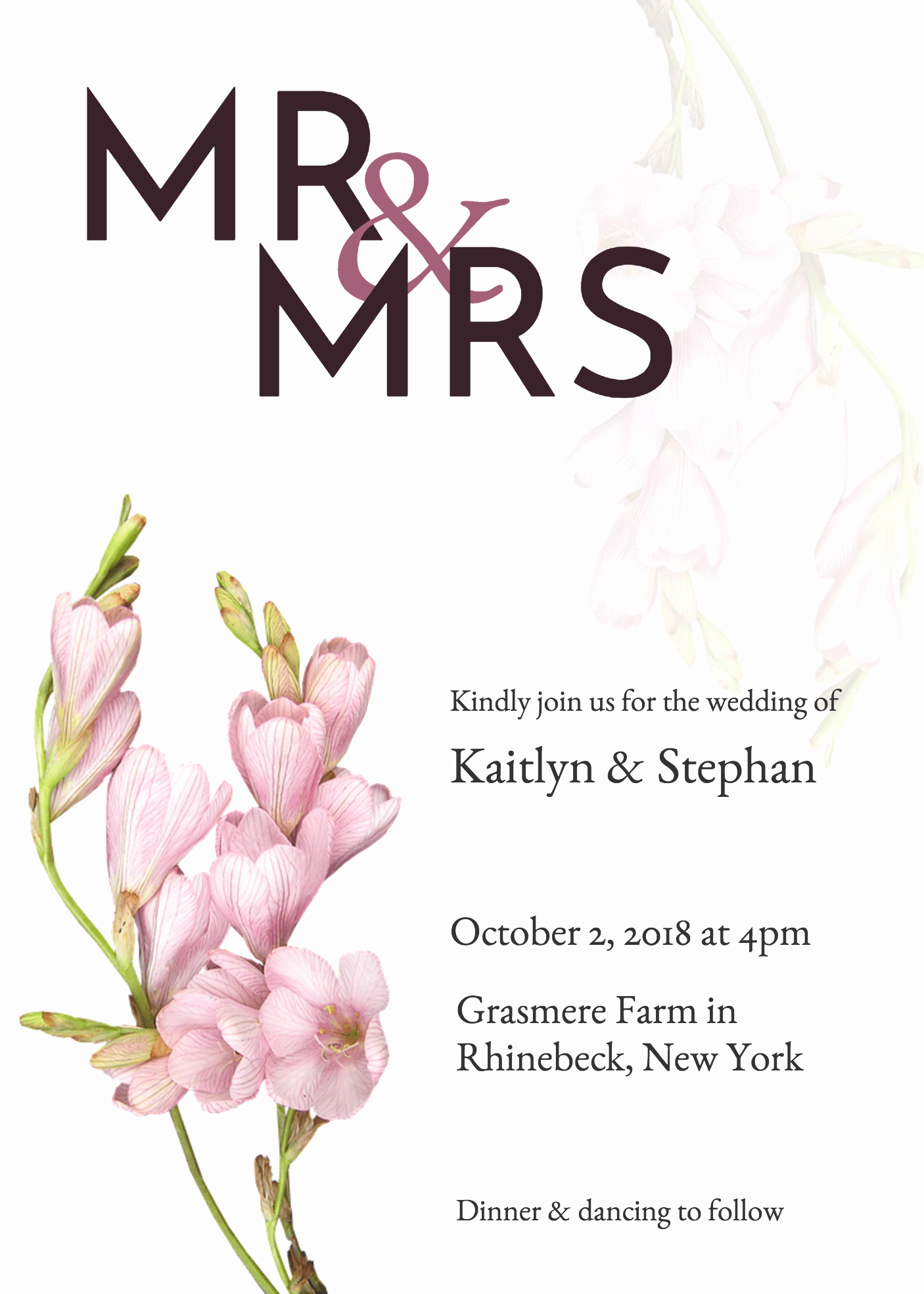 Wedding Invitation List Templates Luxury 19 Diy Bridal Shower and Wedding Invitation Templates