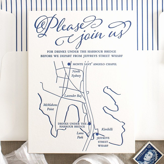 Wedding Invitation Map Creator Beautiful Custom Maps for Letterpress Wedding Invitations