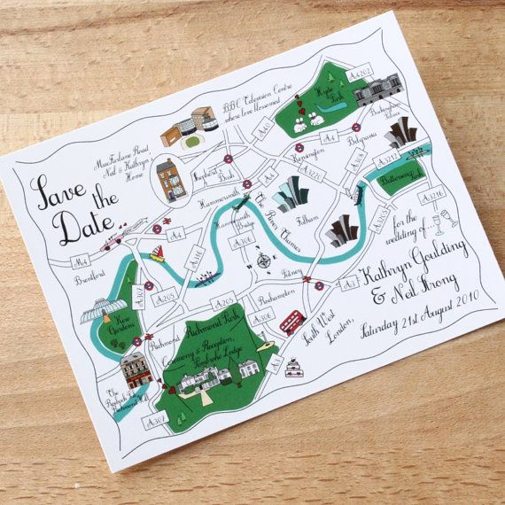 Wedding Invitation Map Creator Best Of Custom Map Postcards Cute Wedding Map We Re Moving or Von
