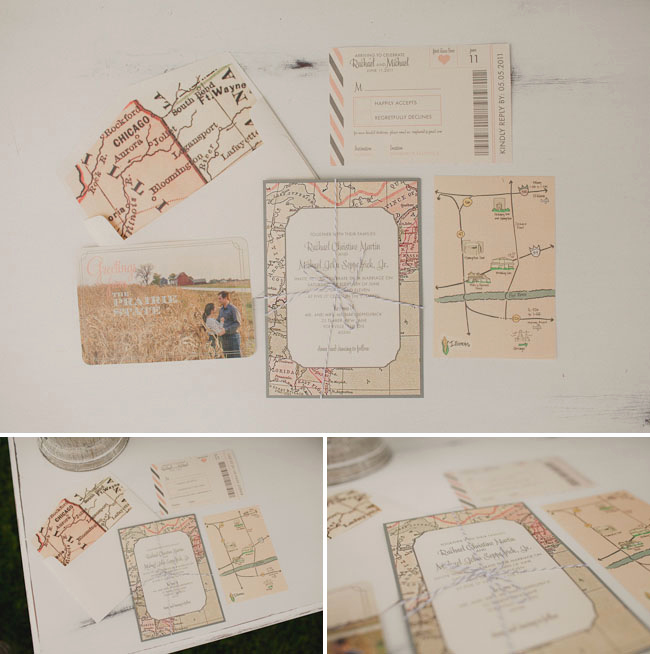 Wedding Invitation Map Creator Fresh A Whimsical Backyard Wedding Rachael Mike
