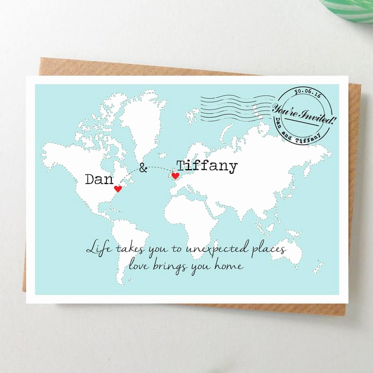 Wedding Invitation Map Creator Luxury 25 Best Ideas About Postcard Invitation On Pinterest