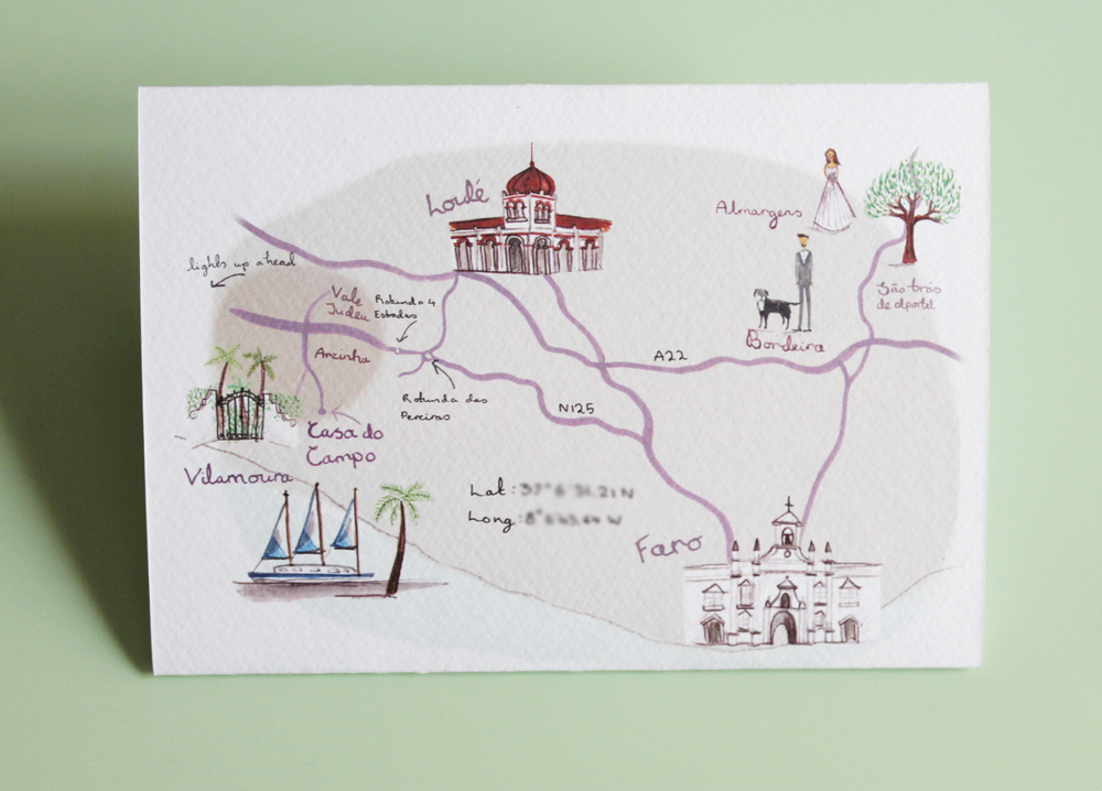 Wedding Invitation Map Creator Unique Wedding Invites