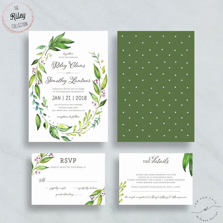 Wedding Invitation On Pinterest Beautiful Best 25 Green Wedding Invitations Ideas On Pinterest