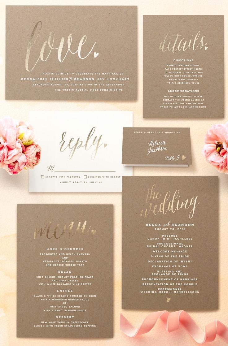 Wedding Invitation On Pinterest Fresh 25 Best Ideas About Romantic Wedding Invitations On