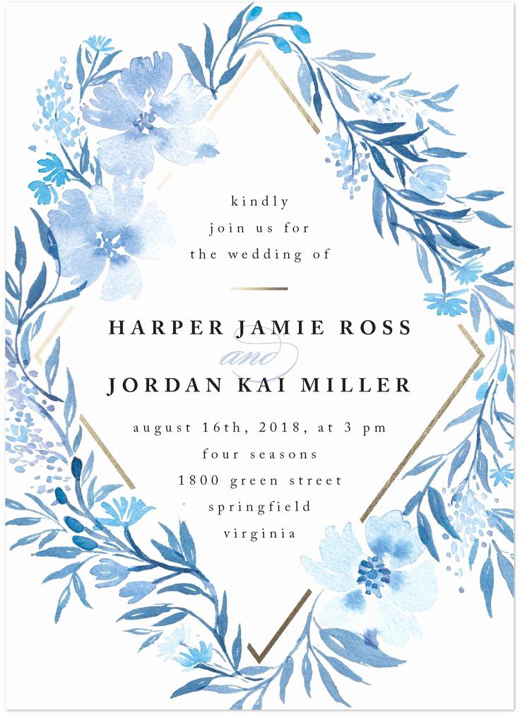 Wedding Invitation On Pinterest Fresh Best 25 Blue Wedding Invitations Ideas On Pinterest