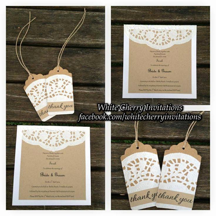 Wedding Invitation On Pinterest Fresh Doily Invites Wedding Invitation Ideas