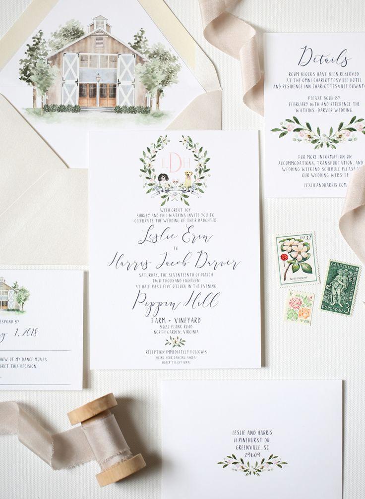 wedding invitations paper suite