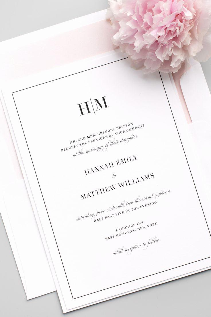 Wedding Invitation On Pinterest New 25 Best Ideas About Modern Wedding Invitations On