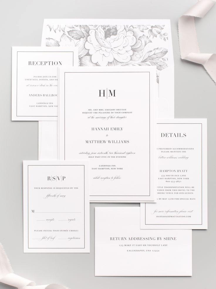 Wedding Invitation On Pinterest New Best 25 Modern Wedding Invitations Ideas On Pinterest