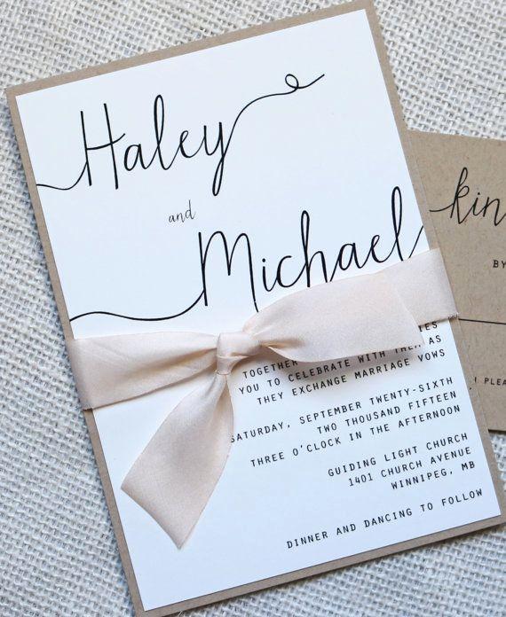 Wedding Invitation On Pinterest New Simply Modern Love Of Creating Design Co
