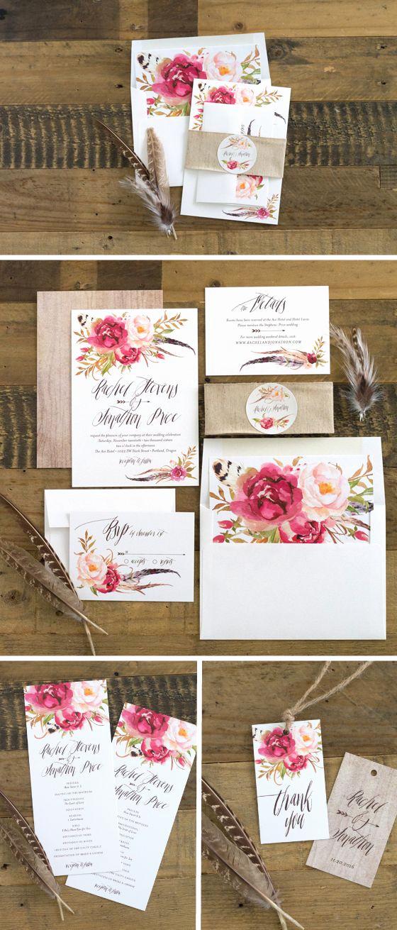 Wedding Invitation On Pinterest Unique 17 Best Ideas About Floral Wedding Invitations On
