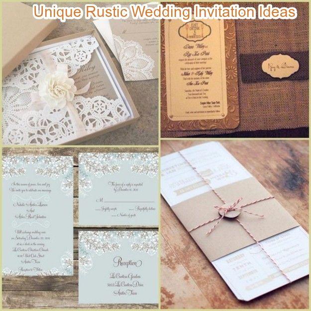 Wedding Invitation Photo Ideas Best Of 20 Rustic Wedding Invitations Ideas