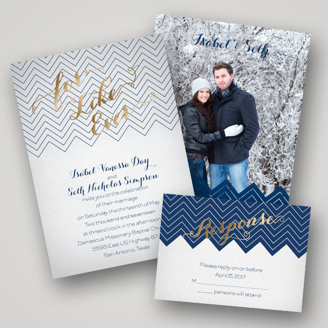 Wedding Invitation Photo Ideas Inspirational Wedding Invitation Ideas Foil Pressed Invitations