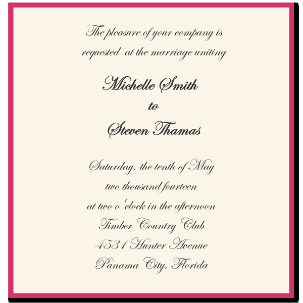 Wedding Invitation Quotes and Sayings Unique Wedding Invitation Sayings and Quotes Quotesgram