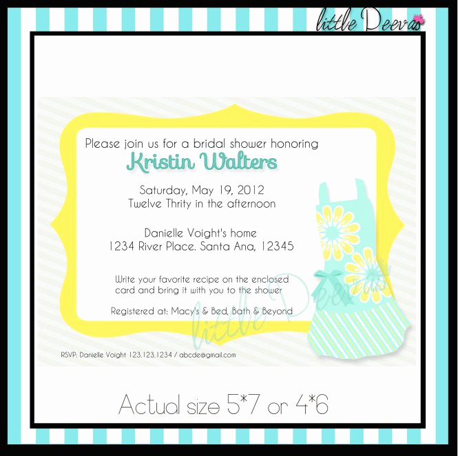 Wedding Invitation Registry Wording Beautiful Baby Shower Gift Registry Invitation Wording
