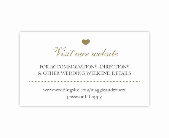 Wedding Invitation Registry Wording Beautiful Wedding Website Cards Enclosure Cards Wedding Hashtag