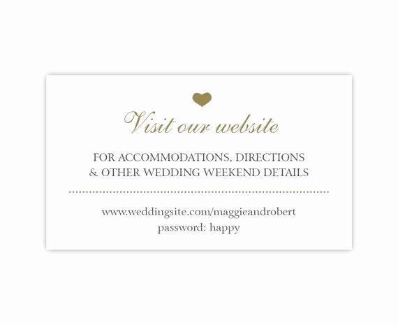 Wedding Invitation Registry Wording Beautiful Wedding Website Cards Enclosure Cards Wedding Hashtag