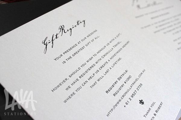 Wedding Invitation Registry Wording Lovely Wedding Stationery Checklist