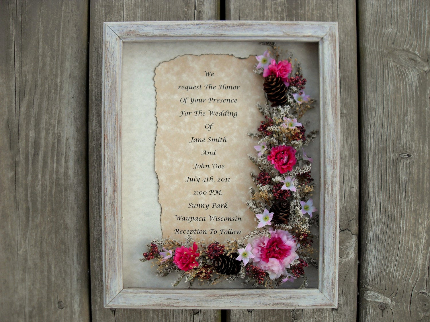 Wedding Invitation Shadow Box Ideas Best Of Items Similar to Custom Wedding Invitation Shadow Box