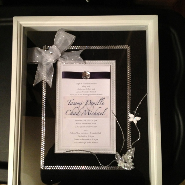 Wedding Invitation Shadow Box Ideas Elegant 288 Best Images About Bridal Shower Ideas On Pinterest