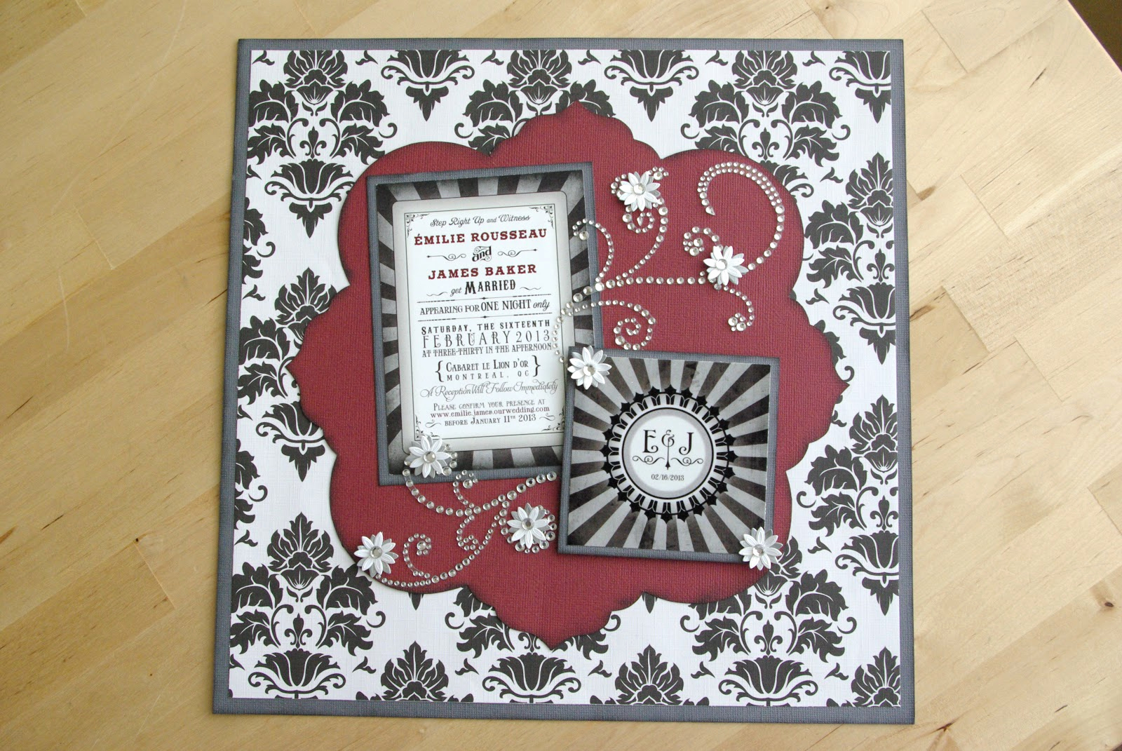 Wedding Invitation Shadow Box Ideas New Npkards Wedding Invitation Shadow Box