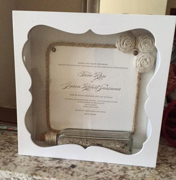 Wedding Invitation Shadow Box Luxury Wedding Invitation Shadow Box Gift