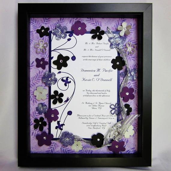 Wedding Invitation Shadow Box New Unavailable Listing On Etsy