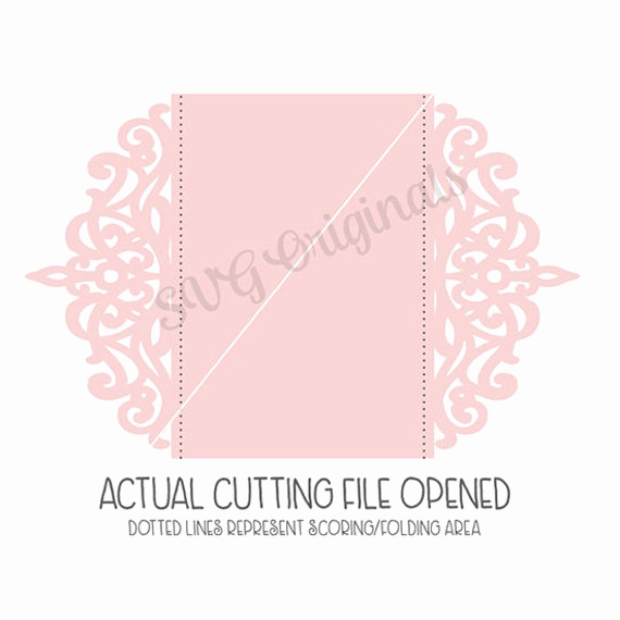 Wedding Invitation Svg Files Awesome Lace Card or Invitation Svg File Beautiful Card Wedding