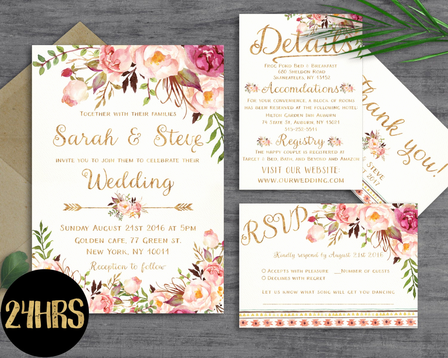 Wedding Invitation Template Download Beautiful Floral Wedding Invitation Template Wedding Invitation