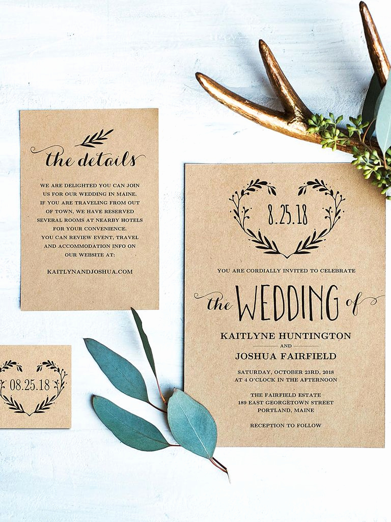 Wedding Invitation Template Download Lovely 16 Printable Wedding Invitation Templates You Can Diy