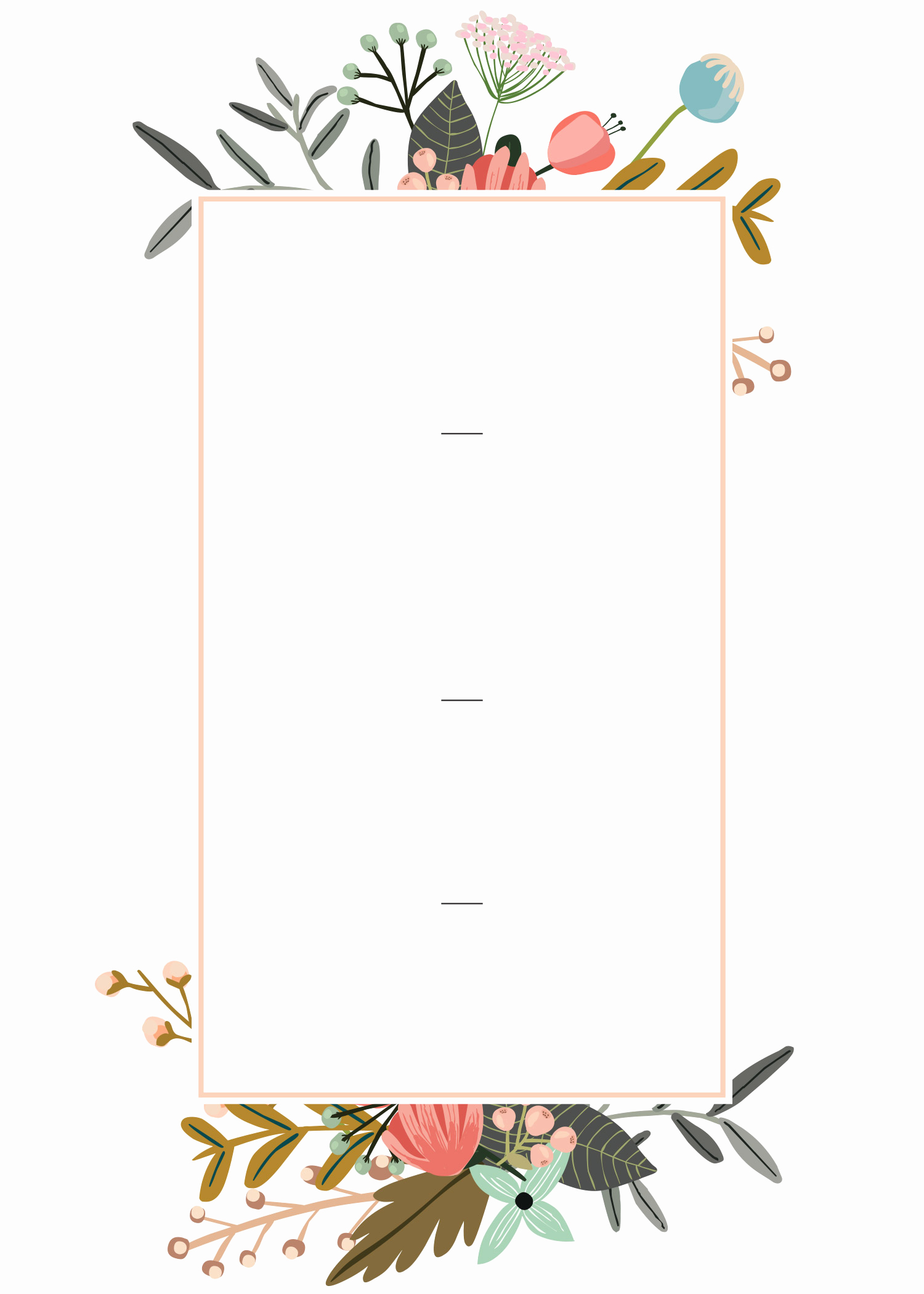 Wedding Invitation Templates Downloads Inspirational Editable Wedding Invitation Templates for the Perfect Card