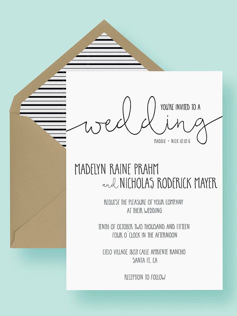 Wedding Invitation Templates Downloads New 16 Printable Wedding Invitation Templates You Can Diy