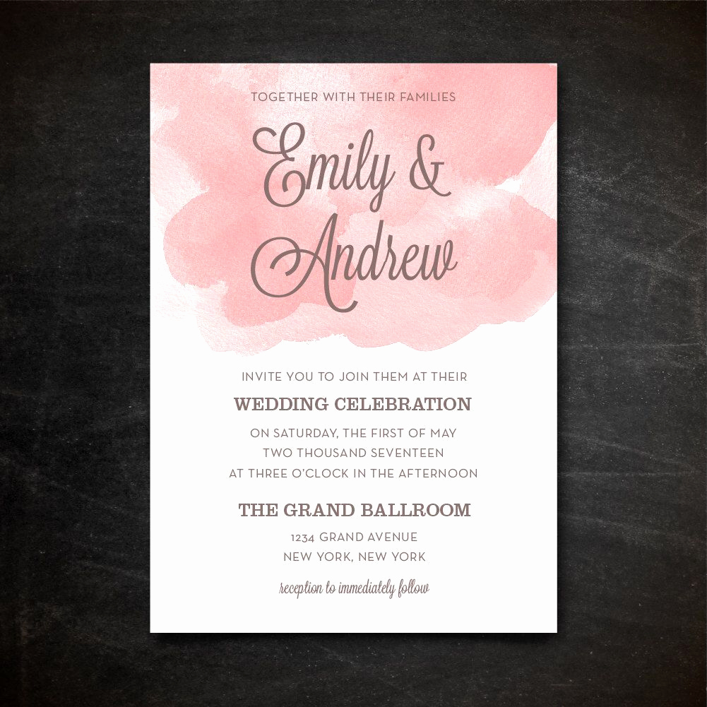 Wedding Invitation Templates Downloads Unique Wedding Invitation Template Printable Wedding Invitation