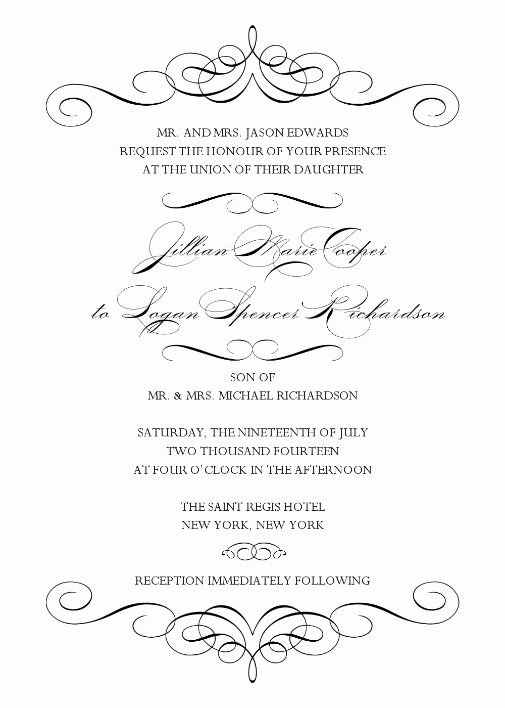 Wedding Invitation Templates Free Awesome Wedding Invitation Template Wedding Invitation Template