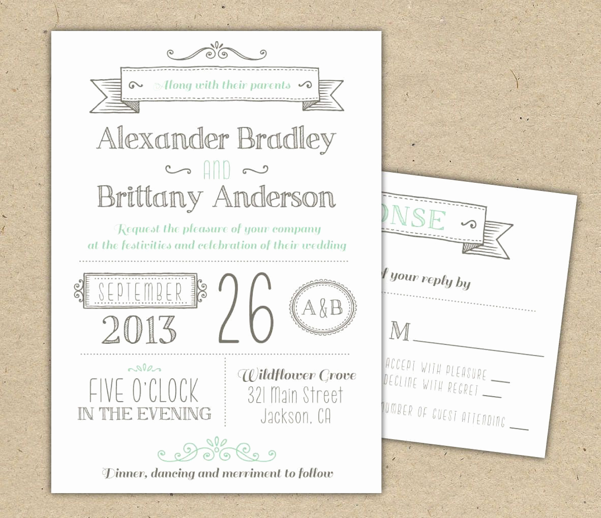 Wedding Invitation Templates Free Awesome Wedding Invitations Template Free Download