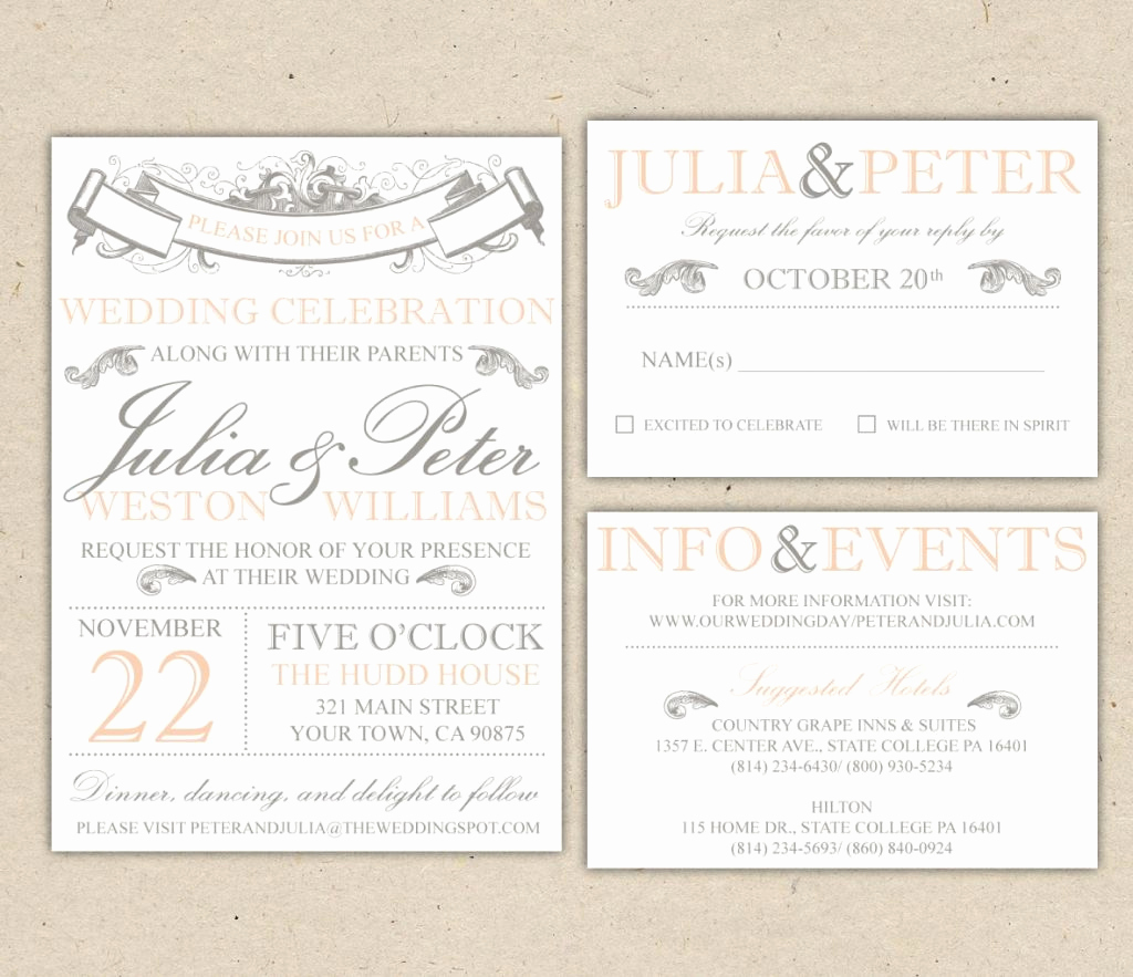 Wedding Invitation Templates Free Beautiful Beach Wedding Invitation Templates for Microsoft Word