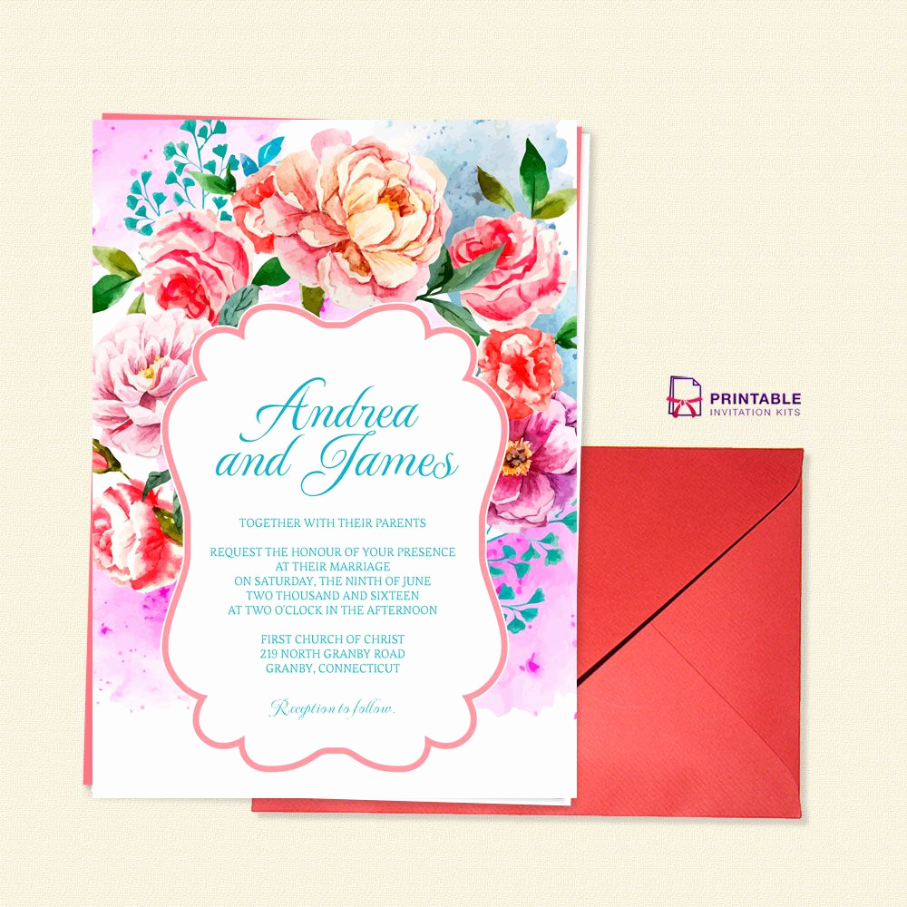Wedding Invitation Templates Free Download Awesome Free to Pdf Invitation Template Beautiful