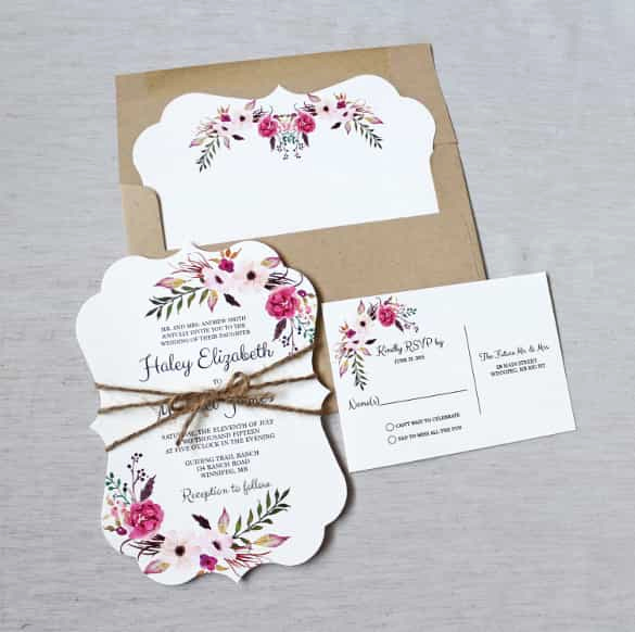 Wedding Invitation Templates Free Download Best Of 85 Wedding Invitation Templates Psd Ai