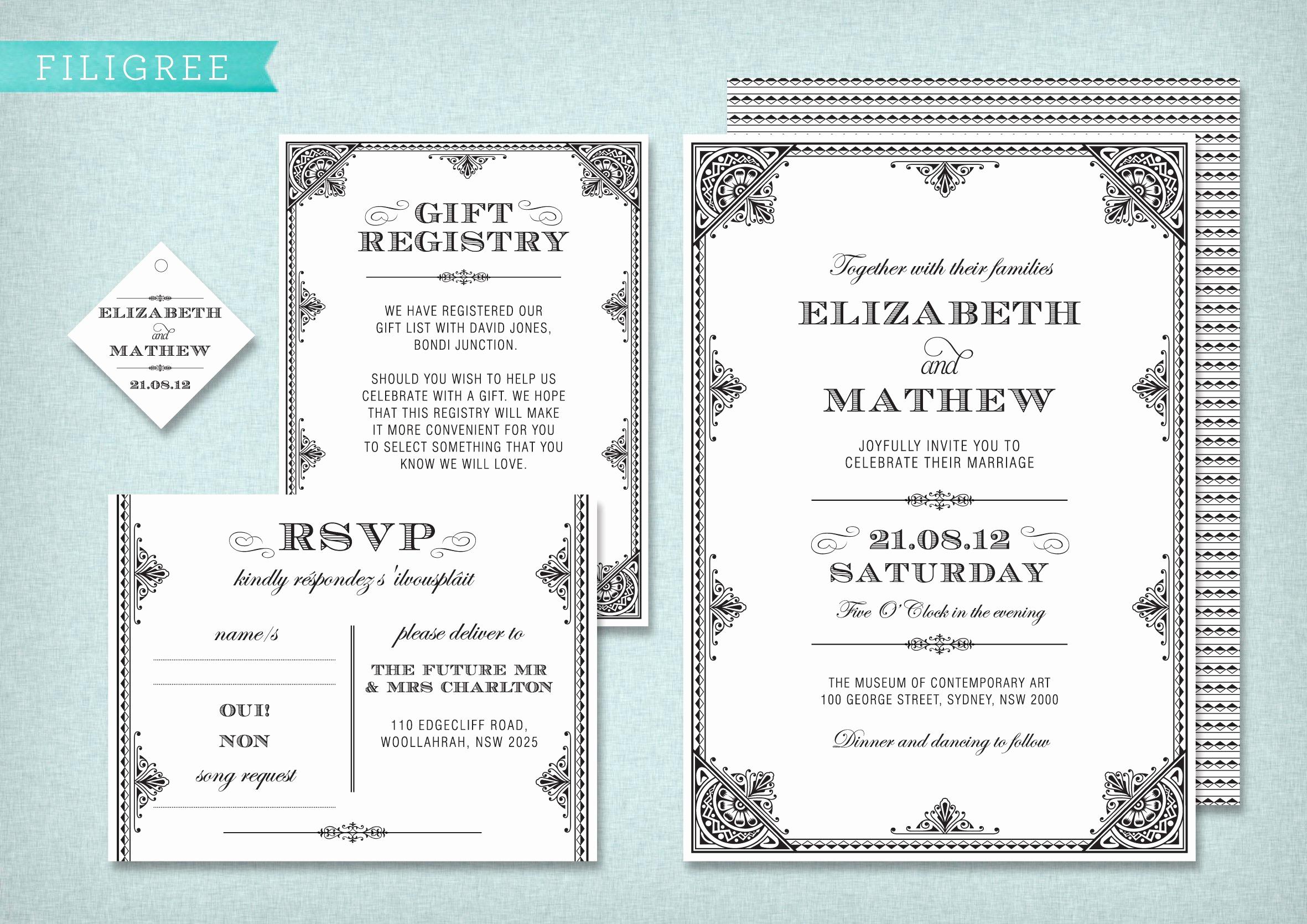 Wedding Invitation Templates Free Download Fresh Wedding Invite Template Wedding Invitation Templates