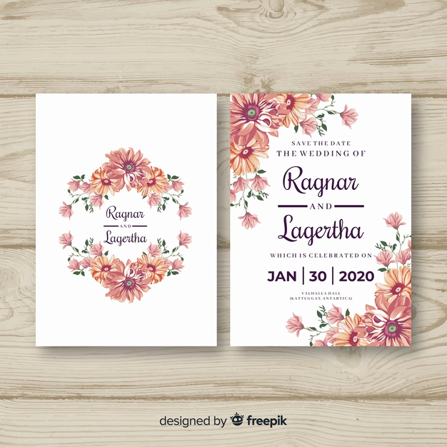 Wedding Invitation Templates Free Downloads Unique Wedding Card Vectors S and Psd Files