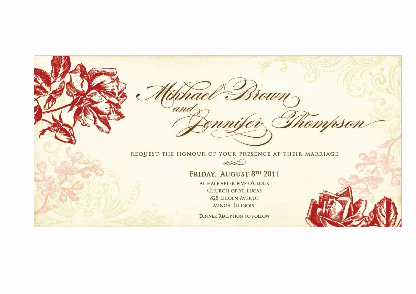 Wedding Invitation Templates Free Fresh Wedding Invitation Templates