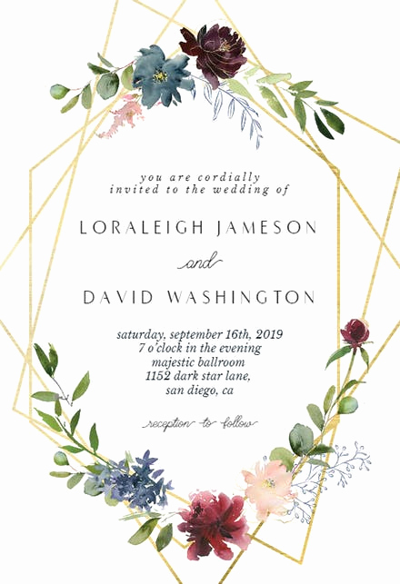 Wedding Invitation Templates Free New Wedding Invitation Templates Free