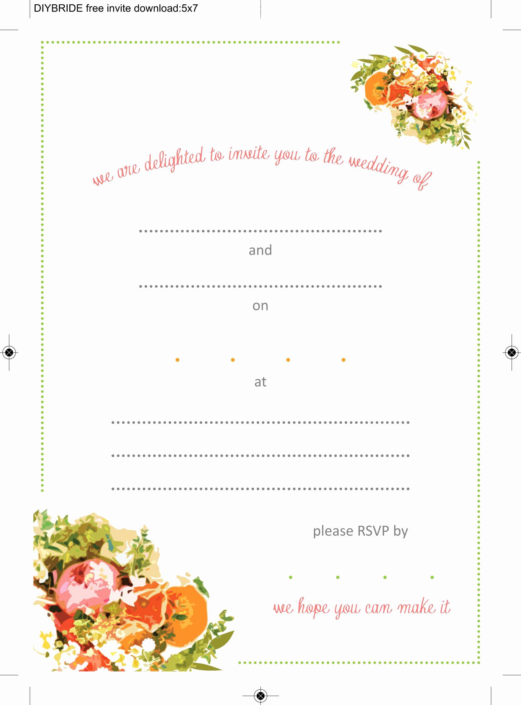 Wedding Invitation Templates Word Elegant Wedding Invitation Templates that are Cute and Easy to