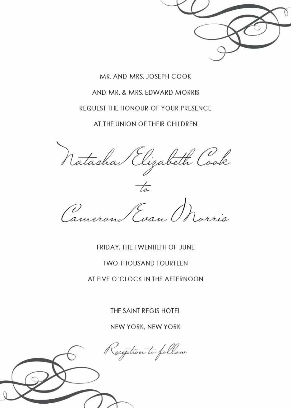 Wedding Invitation Templates Word Unique Wedding Invitation Templates Word