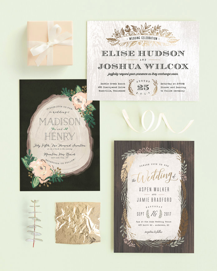 Wedding Invitation Trends 2017 Beautiful Wedding Invitation Trends 2017 — New Wedding Stationery