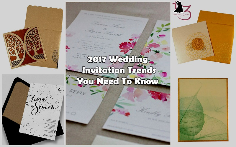 Wedding Invitation Trends 2017 Best Of 2017 Wedding Invitation Trends You Need to Know