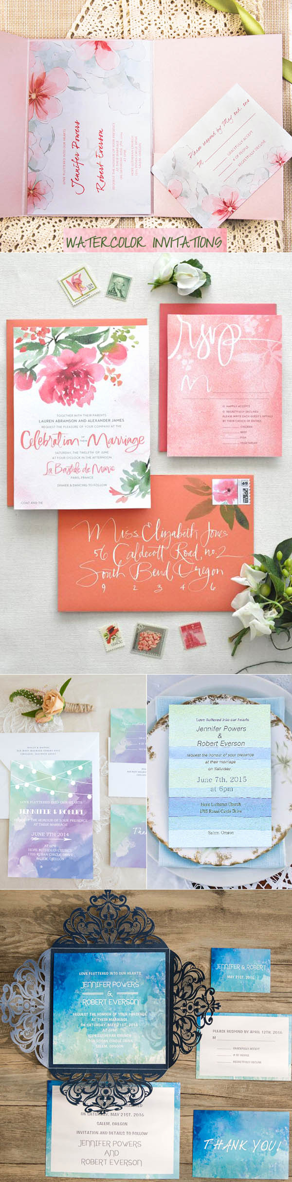 Wedding Invitation Trends 2017 Elegant top 10 Wedding Invitation Trends for 2017